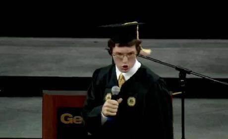 Georgia Tech Sophomore Welcomes Freshmen in Epic Convocation Speech