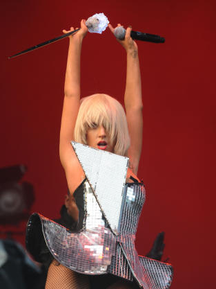 Lady GaGa Crotch Shot