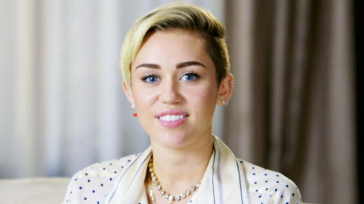 Miley Cyrus on MTV