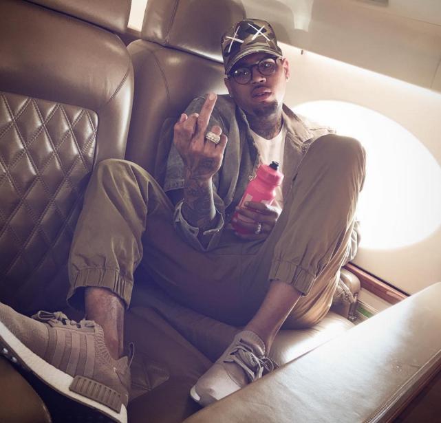 Chris Brown Curses You Off