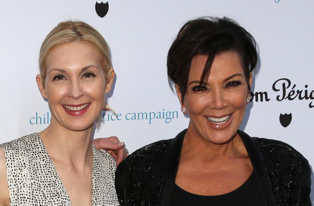 Kelly Rutherford kris jenner