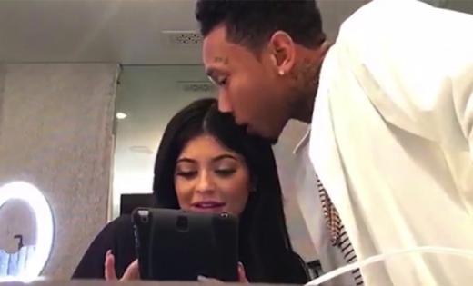 Kylie Jenner, Tyga Live Stream