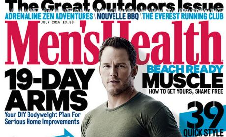 Chris Pratt on Men's Health