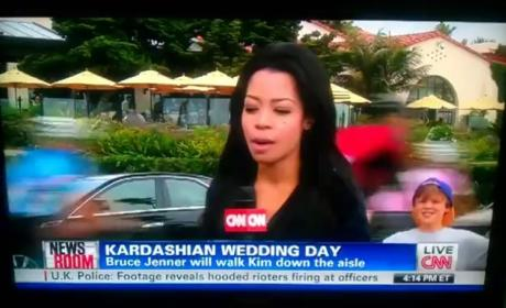 Kim Kardashian Wedding Details: The Dress, The Vows, The Hilarious News Report!
