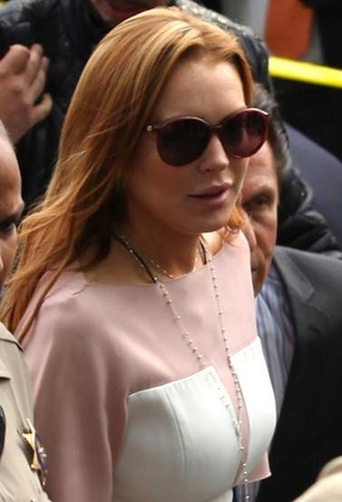 Lindsay Back in Court Again