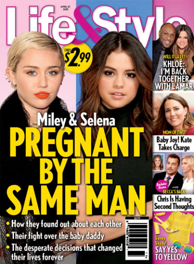 Miley Cyrus and Selena Gomez: PREGNANT!