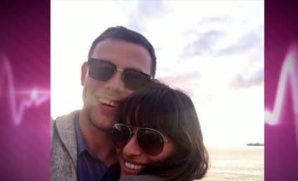 "Lea Michele Talks ""Insane Love"" for Cory Monteith, New Album"