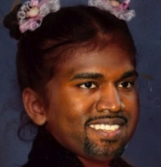 Kanye West Baby Picture