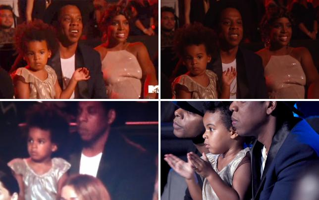 Blue ivy dancing