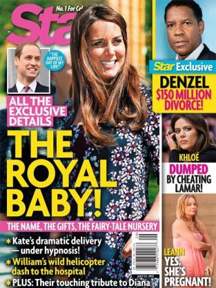 The Royal Baby Cover!