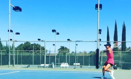 Ryan Sweeting FLIPS OUT After Kaley Cuoco Beats Him in Tennis: Watch The Hilarious Video!