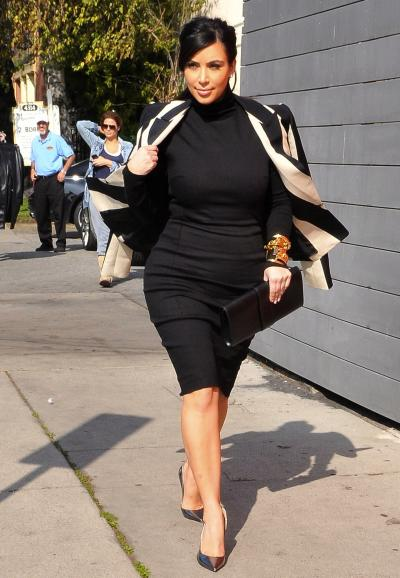 Kim Kardashian on the Move