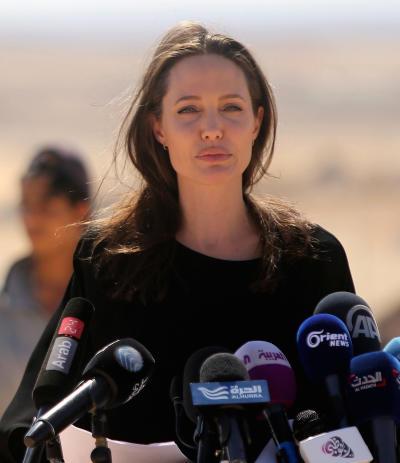 Angelina Jolie in Jordan