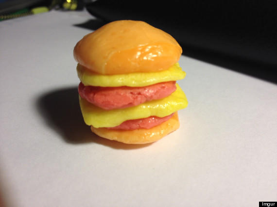 Starburst Cheeseburger