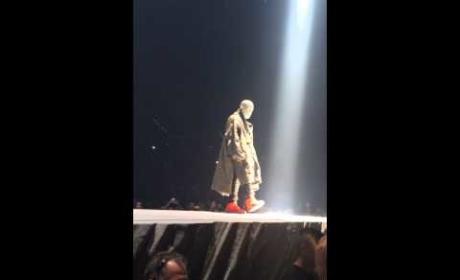 Kanye West Talks Sh-t on Stage