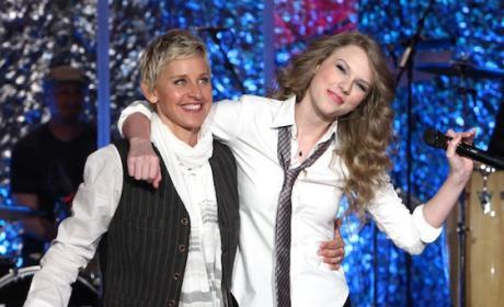 Ellen and Taylor