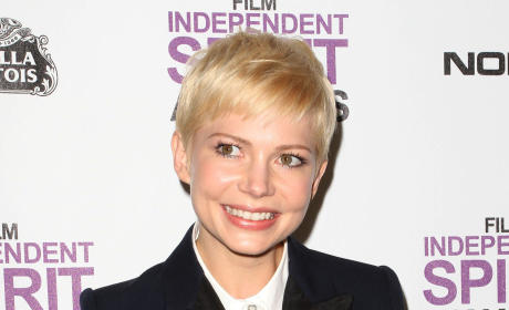 Michelle Williams at the Spirit Awards
