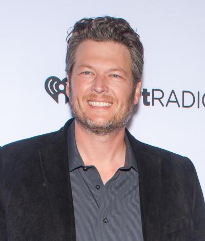 Blake Shelton Smiles
