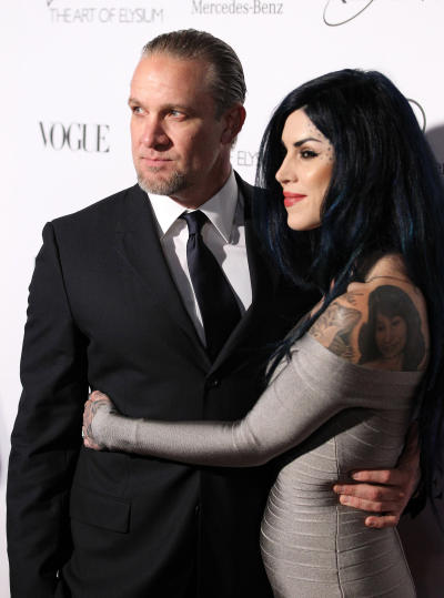 Kat Von D and Jesse James Pic