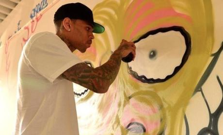 Chris Brown, Graffiti Pic