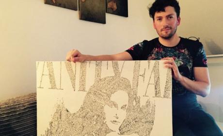 Caitlyn Jenner: Artist Recreates Vanity Fair Cover Using Online Death Threats