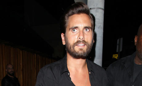 Scott Disick Leaves The Nice Guy