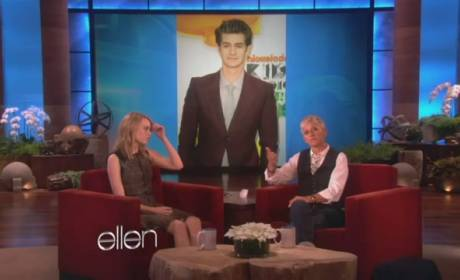 Emma Stone Loves Fruit, Make Out Sessions with Ryan Gosling and Andrew Garfield