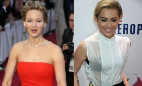 "Jennifer Lawrence ""Got Wasted"" at Oscars, Puked In Front of Miley Cyrus"