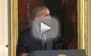 President Obama Assures Veteran: I Am NOT the Lead Singer From Korn!