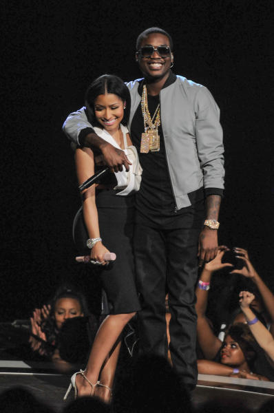 Nicki Minaj and Meek Mill: 2015 BET Awards