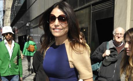 Bethenny Frankel in New York