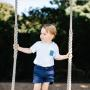 Prince George On Swing