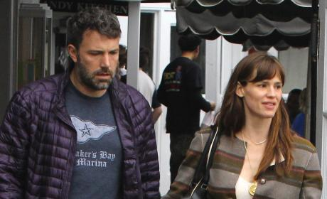 Jennifer Garner and Ben Affleck Pic