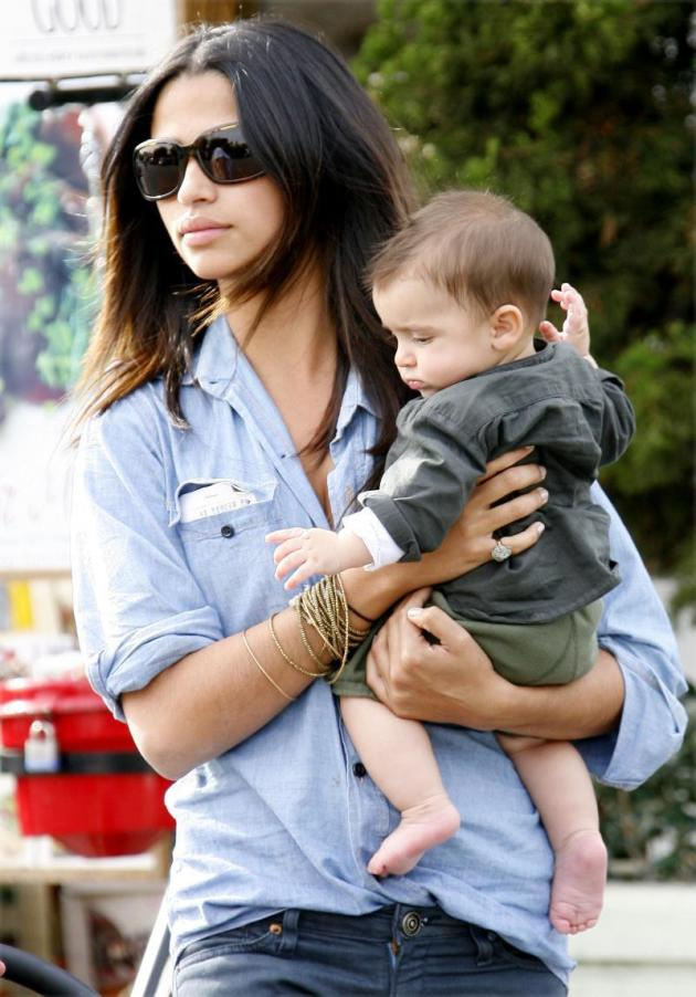 Camila Alves and Levi