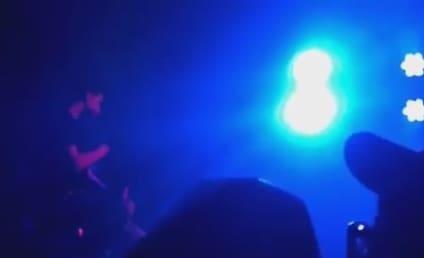 Adam Lambert Covers Rihanna in Seoul