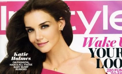 Katie Holmes Covers InStyle, Talks Family