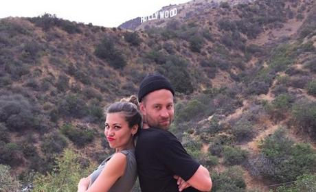 Britt Nilsson and Brady Toops Hiking