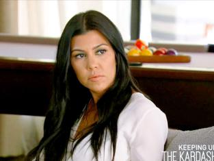 Kourtney Kardashian on Keeping Up with the Kardashians