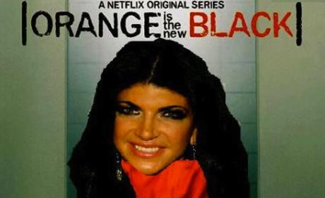 Teresa Giudice: Orange is the New Black!