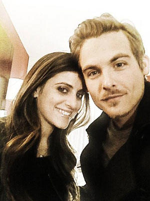 Kevin Zegers and Jaime Feld