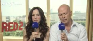 Bruce Willis Sort of Promotes Red 2