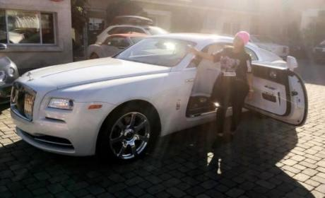Blac Chyna Rolls Royce Photo
