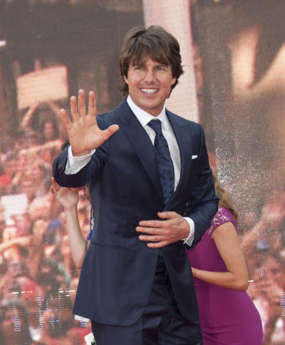 Tom Cruise Red Carpet Pic