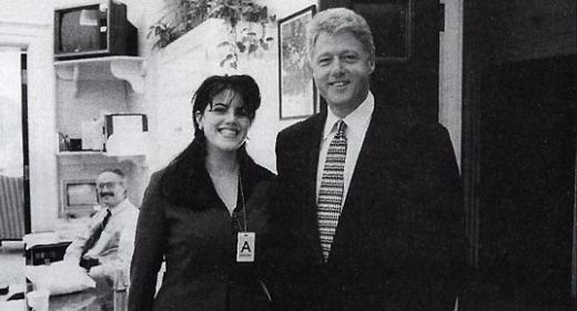 Monica Lewinsky, Bill Clinton