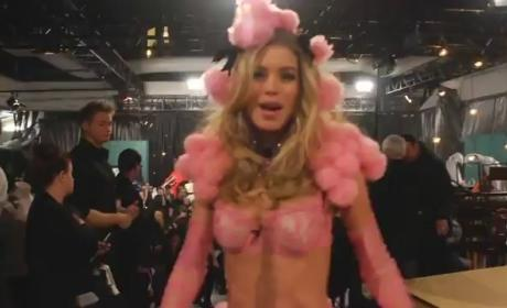 VIDEO: Supermodels Lip-Sync to Justin Bieber