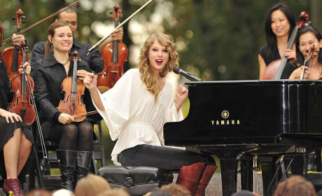 Taylor Swift Performs Free Concert in Central Park