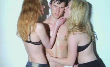 Lydia Hearst on Racy Alex Pettyfer Photo: Just Art!