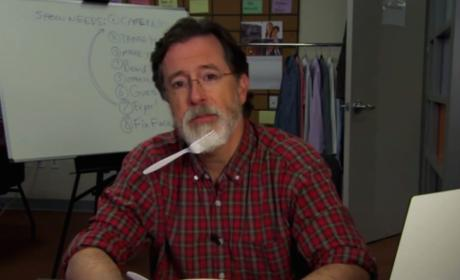 "Stephen Colbert Shaves Off ""Colbeard"" in Preparation for The Late Show"