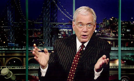 Stephanie Birkitt: David Letterman is the Best Boss Ever!
