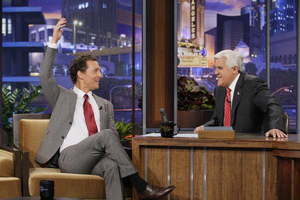 Matthew McConaughey on The Tonight Show